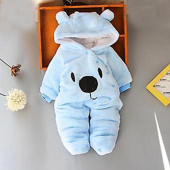 Newborn Baby Footies Winter Warm Clothing 3-12 Month Baby Kids Cotton Newborn Toddler Footies