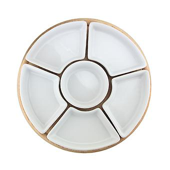 Apollo Lazy Susan with Dishes