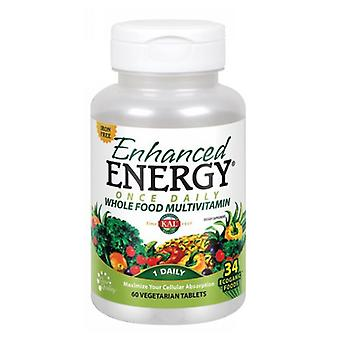 Kal Enhanced Energy, Iron Free, 60 Tabs