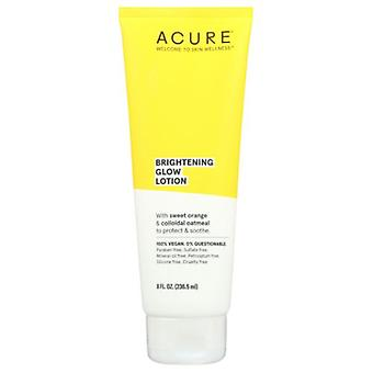 Acure Brigtening Glow Lotion, 8 Oz