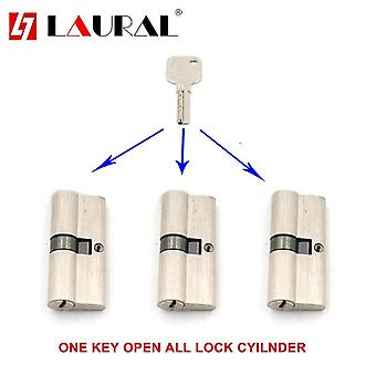 One Same Key For All Double Cylinder 60 65 70 75 80 90 100 Security  Lock