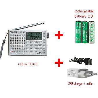 Tecsun -full Radio Digital Demodulator Fm/am/sw/lw Stereo ,kannettava, Internet