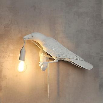 إيطاليا Seletti الطيور أدى مصابيح الطاولة، مصمم ديكور المنزل الحلي الحيوانية
