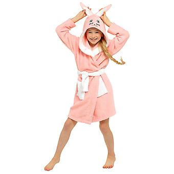 Girls Bunny Con capucha Towelling Robe
