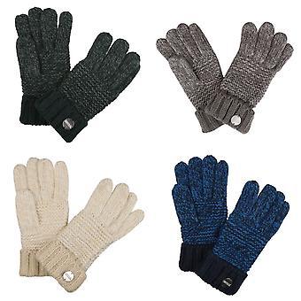 Regatta Womens/Ladies Frosty IV Chunky Knit Winter Gloves