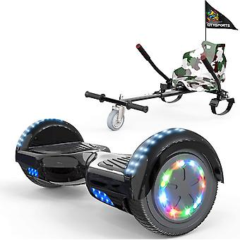 CITYSPORTS classical black Hoverboard Segway with Adjustable Hoverkart