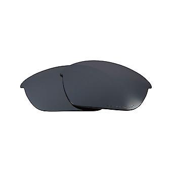 عدسات استبدال ل Oakley نصف سترة النظارات الشمسية المضادة للخدش الفضة مرآة