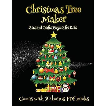 Arts and Crafts Projects for Kids (Christmas Tree Maker)