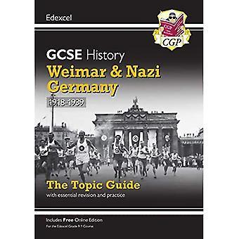 Ny Grade 9-1 GCSE Historie Edexcel Emne Guide - Weimar og Nazityskland, 1918-39