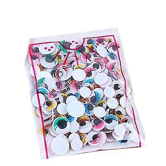 Self-adhesive Googly Wiggle Eyes For Scrapbooking, Crafts Projects