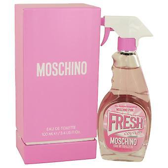 Moschino Pink Fresh Couture Eau De Toilette Spray By Moschino 3.4 oz Eau De Toilette Spray