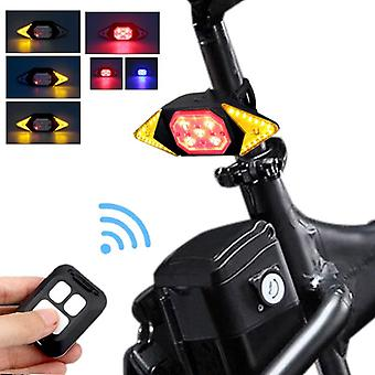 Rechargeable Usb Rear Light For Bike/bicycle