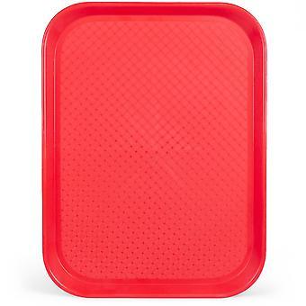 Zásobník na bufet 12x16, červený