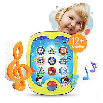 Boxiki kids smart pad for babies and children learning educational toddler tablet toy for infants wi