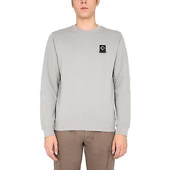 Ma.strum Mas4365m018 Men's Grey Cotton Sweatshirt