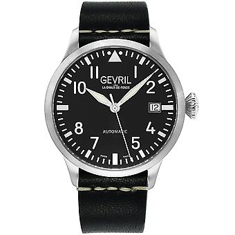 Gevril Men's Vaughn  Stainless Steel Bracelet Watch