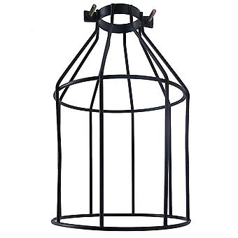 1/2/4pcs Lampshade Pendant Light Lamp Shade Industrial Cage Bulb