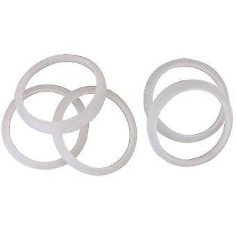 5PCS 10,5 CM Ydre Dia Hollow Waterway Plast Varmelegemet O-Ring Pakning