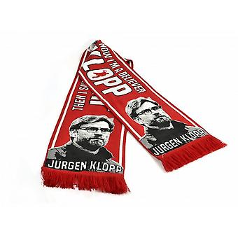 Liverpool FC Jurgen Klopp Football Manager Believer Scarf
