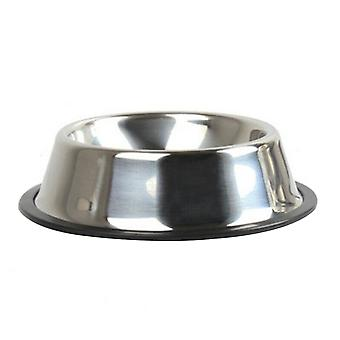 Thickening Stainless Steel Pet Non-slip Feeding Bowl for Dogs and Cats 15cm
