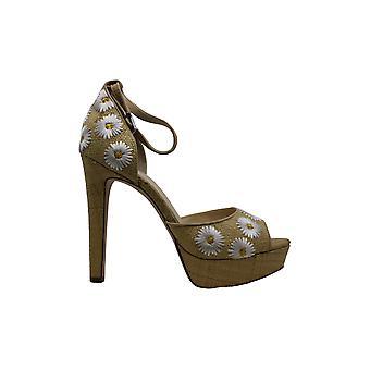 Jessica Simpson Womens youcef tissu Peep Toe occasionnels cheville Strap Sandals