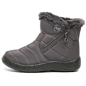 Winter Snow Waterproof Warm Plush Ankle Boots
