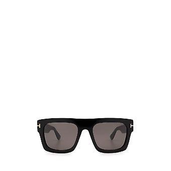Tom Ford FT0711 shiny black unisex sunglasses