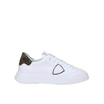 Philippe Model Btluvc01 Men's White Leather Sneakers
