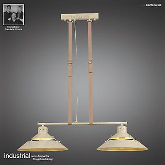 Mantra Industrial Pendant 2 Lights