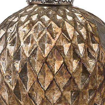 The Noel Collection Burnished Honeycomb Christmas Bauble