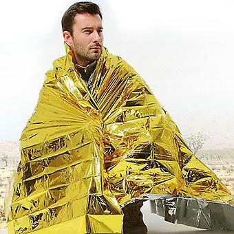 Emergency Mylar Blanket Rescue Thermal Aids, Retain Body Heat For Camping