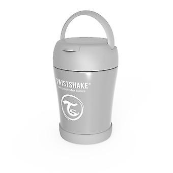 Twistshake Insulated Food Box Pastel Grey