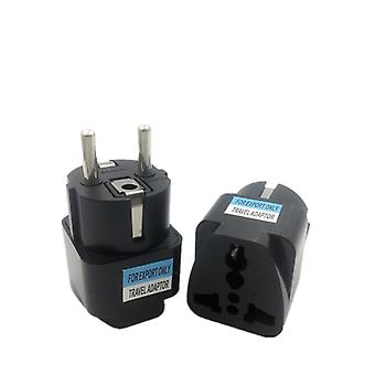 1kpl Universal Eu -pistokesovitin International Travel Adapter Converter Socket