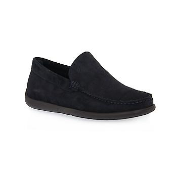 Frau blue beaver shoes