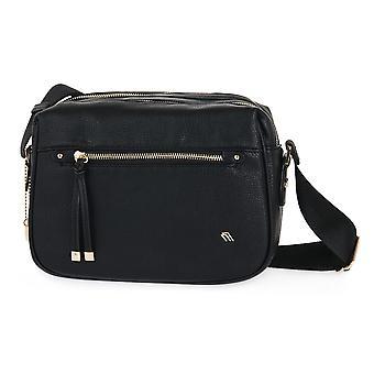Frau black mausse bags