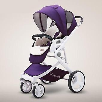 Pouch Stroller. High Landscape Baby Stroller Kinderwagen Poussette