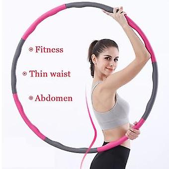 Wholesale Simple Style Removable Massage Weighted Hula Ring Adjustable Exercise Hula Ring Hoop For Adults