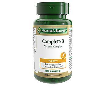 100 Comprimidos Recubiertos Unissex do Complexo B da Natureza