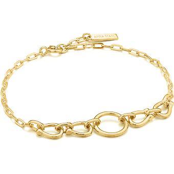 Ania Haie AH B021-04G Chain Reaction Women's Bracelet