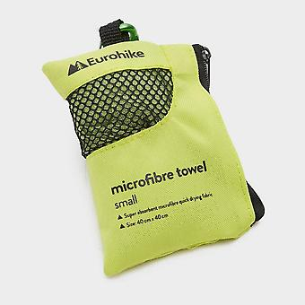 New Eurohike Microfibre Mini Clip Towel (40X40cm) Green