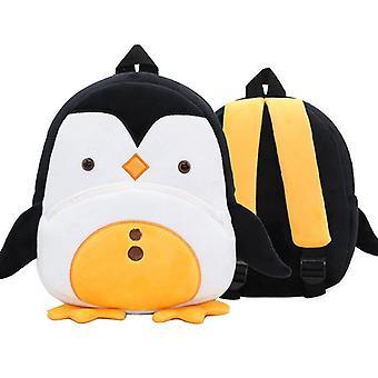 Pingviini pehmo kuvio pehmeä reppu