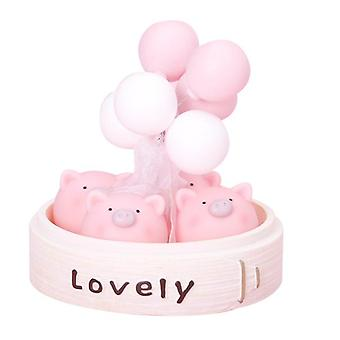 Cute Little Things Car Balloon Ornaments Car Home Decorations