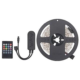 Paras BT LED Strip Lights Kit 10m / 32.8ft Pituus 5050 RGB IR BT musiikkiohjain Vaihtaa Väri 12V Virtalähde Älykäs Valonauha Baari Kodin sisustus