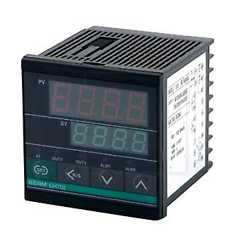 REX-CH702FK02-MV*ABN Controlador de temperatura Pantalla digital 0-400°C K Tipo SSR/Relé Salida