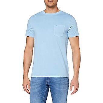 Izod Pigment Dye Pocket Tee T-Shirt, Blue (Little Boy Blue 497), XX-Large Men