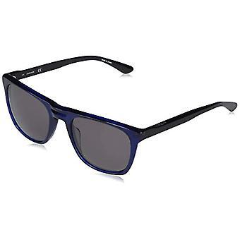 Calvin Klein Ck20542s-405 Briller, Shiny Crystal Blue / Solid Smoke, 54-21-145 Mænds