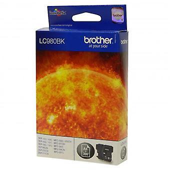 Brother LC-980BK Tintenpatrone schwarz, 300 Seiten, 6ml