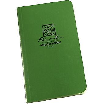 Rite In The Rain Memo Book 3.5 x 6 inches - Green