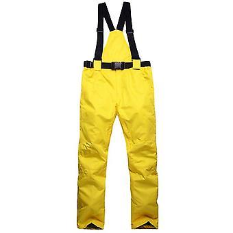 Women Men Outdoor Winter Windproof Warm Waterproof Trousers