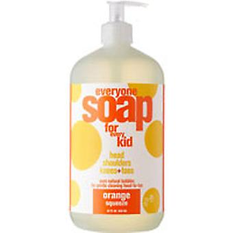 EO Products Everyone Soap For Kids, Orange Squeeze 32 OZ